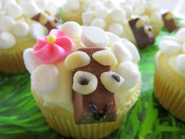Schäfchen- Muffins