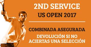 Paston Promoción Tenis U.S. Open: Second Service hasta 8 septiembre