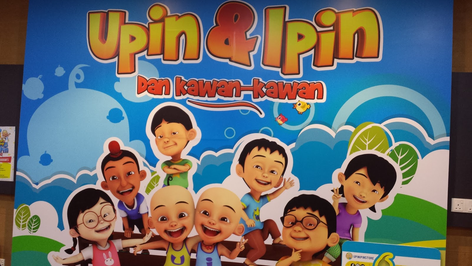 New opening of upin ipin store ampang weekend treat moreover you can get a cup of upin ipin ice cream or a chilled drinks there stopboris Choice Image