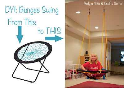 bungee cord chair target chairs with footrests holly's arts and crafts corner: diy project: basement swing