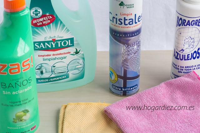 Mis mejores productos de limpieza para el hogar