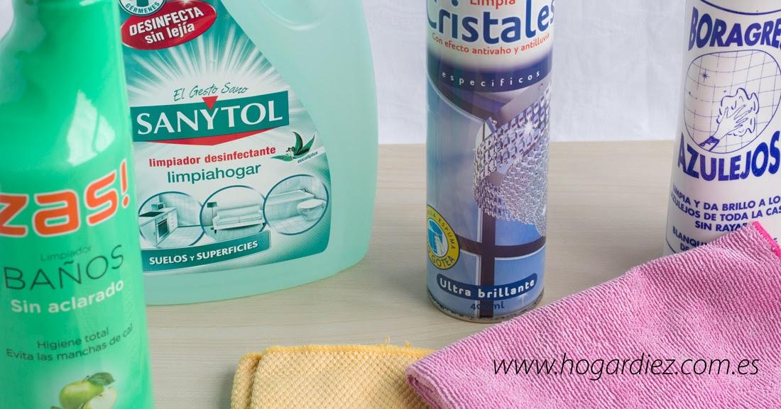 Hogar diez mis mejores productos de limpieza para el hogar for Productos limpieza cocina