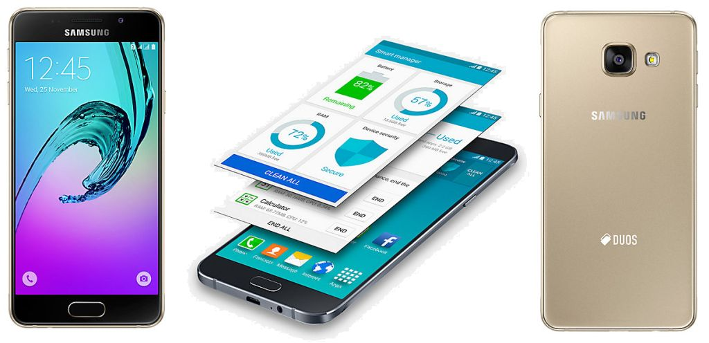 Samsung Galaxy A3 (2016) beserta fitur dan spesifikasi lengkap