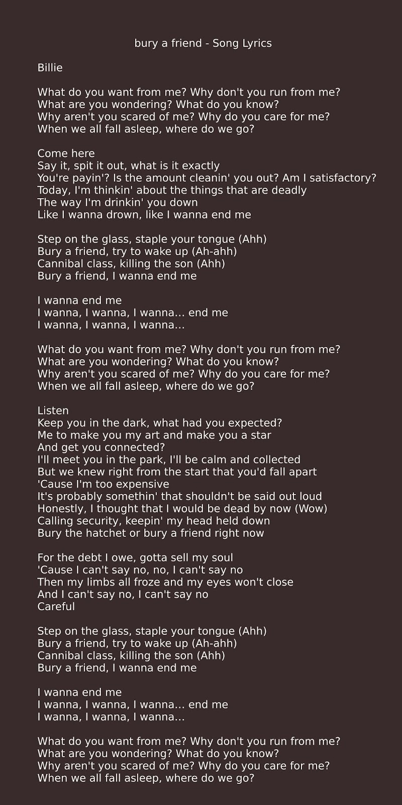 Alex France - I Don't Wanna Be Your Friend (Lyrics) feat. - YouTube