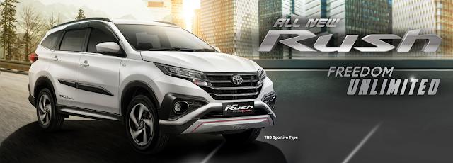 Harga Toyota Rush Surabaya