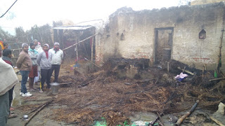 house-in-fire-owner-desd-madhubani