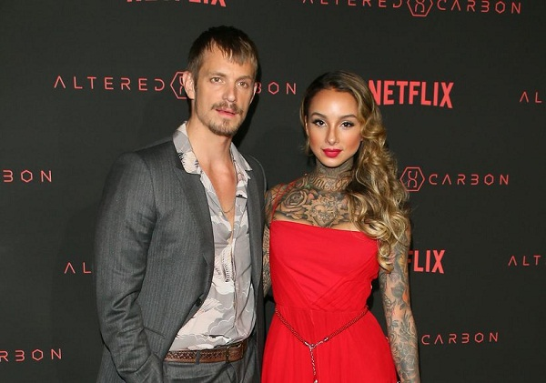 Actor Joel Kinnaman has split from his wife of two years tattoo artist Cleo Wattenstrom!