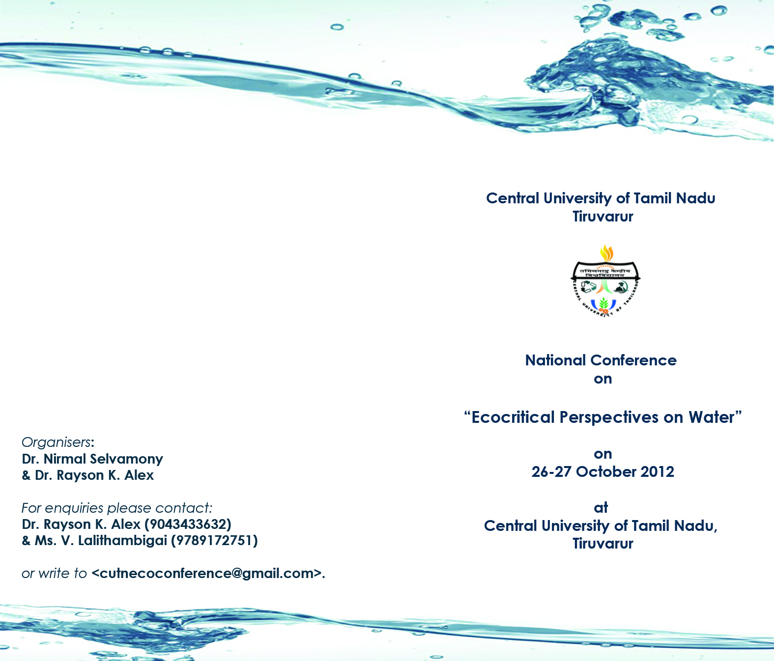 Ecocriticism At Central University Of Tamil Nadu Ecological Succession Worksheet