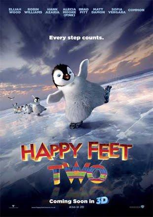 Happy Feet Two 2011 BRRip 720p Dual Audio In Hindi English ESub