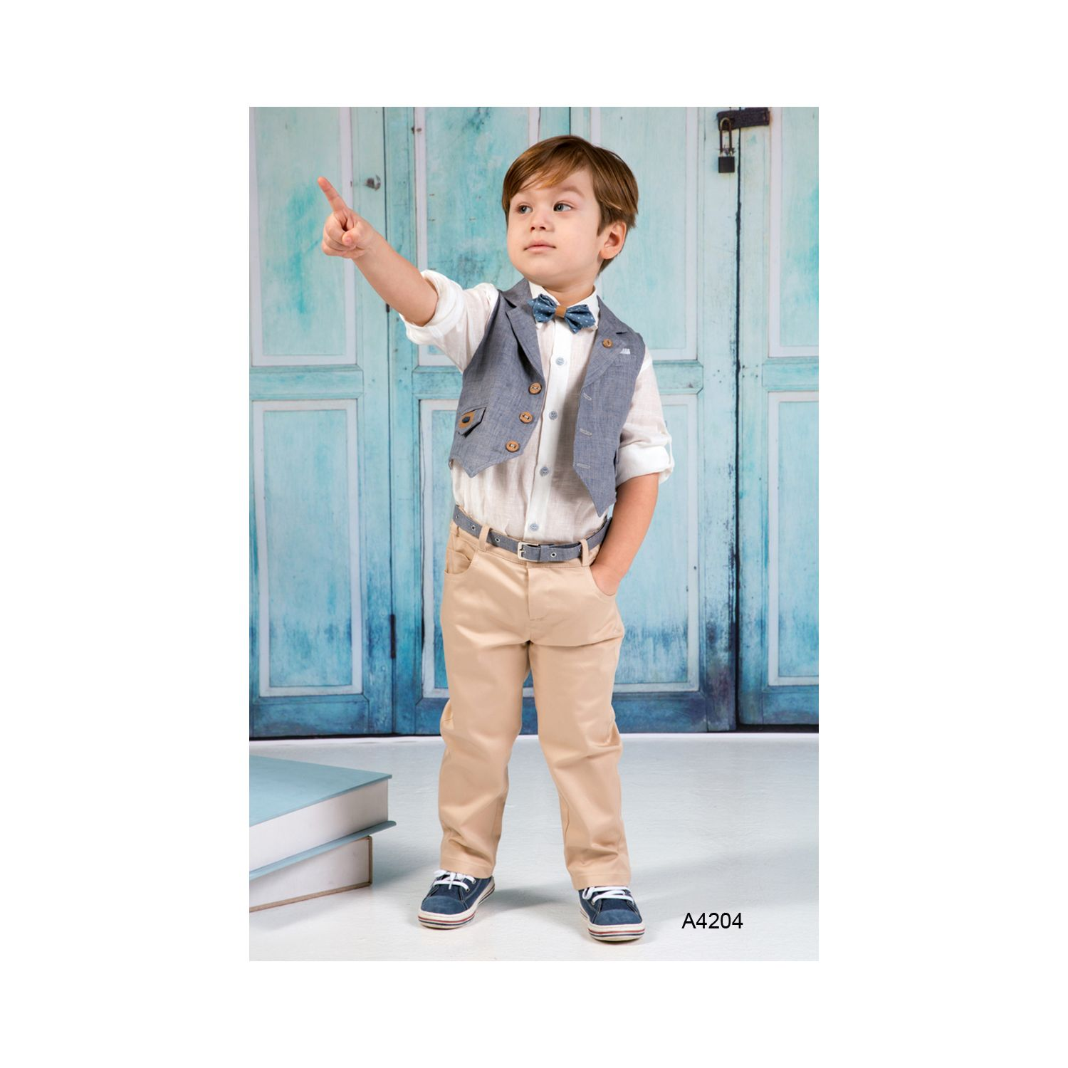 Baptism boy clothes A4204