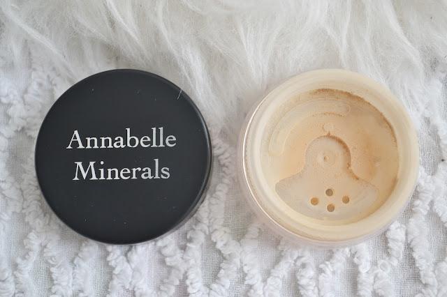 annabelle minerals, podkład mineralny, wersja kryjący, golden fair,
