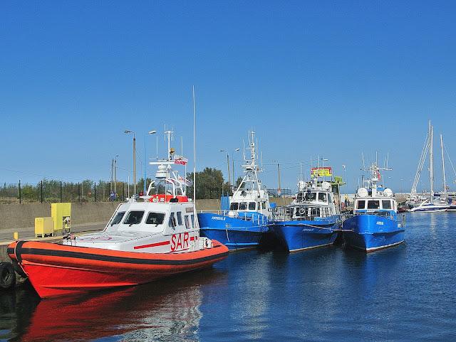 łodzie ratownicze SAR Władysławowo