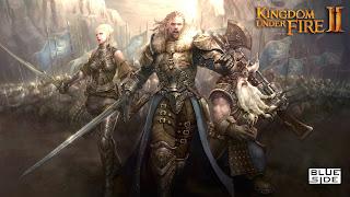 Kingdom Under Fire 2 Logo Wallpaper