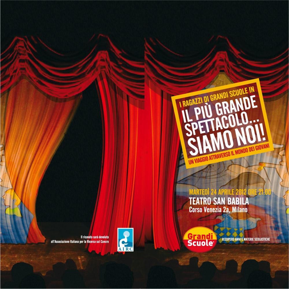 Il Piu Grande Spettacolo Siamo Noi Teatro San Babila Dotgirl