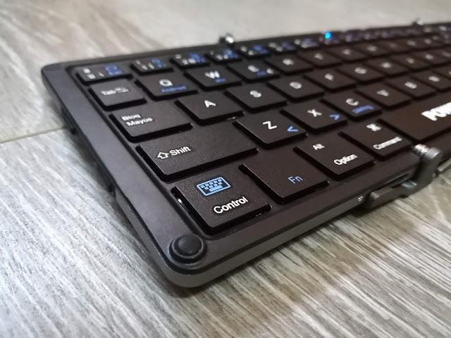 Detalles de calidad teclado Poweradd