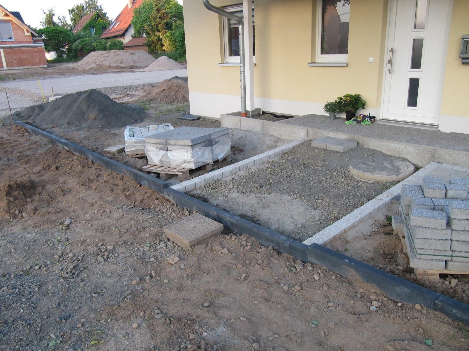 projekt schnitzelbude kantensteine fertig erste pfostentr ger f r carport gesetzt und. Black Bedroom Furniture Sets. Home Design Ideas