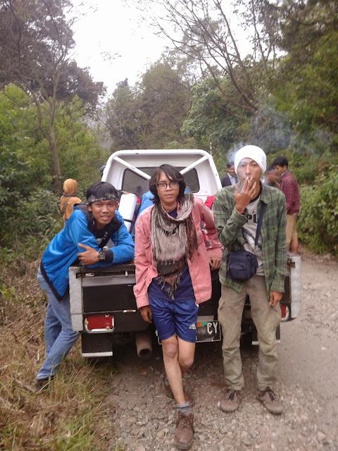 dadah Gunung Papandayan
