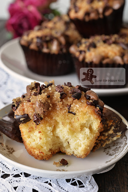 white chocolate muffins cacao nibs easy melt mix Donna Hay