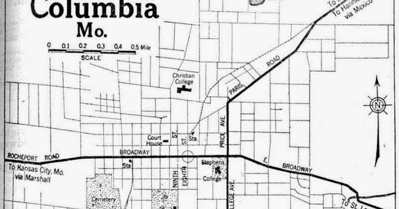 City Of Columbia Missouri Map - Free Printable Maps