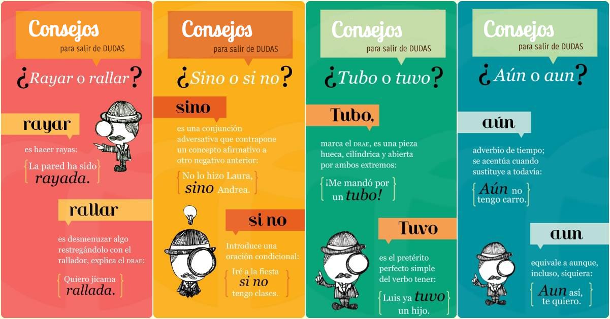 Resultado de imagen de infografias para niños conjugacion