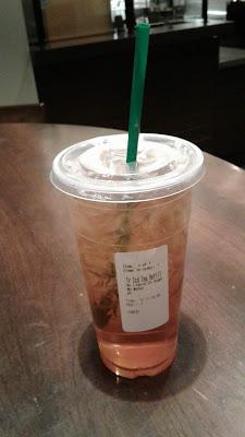 Starbucks Iced Tenta Green Tea