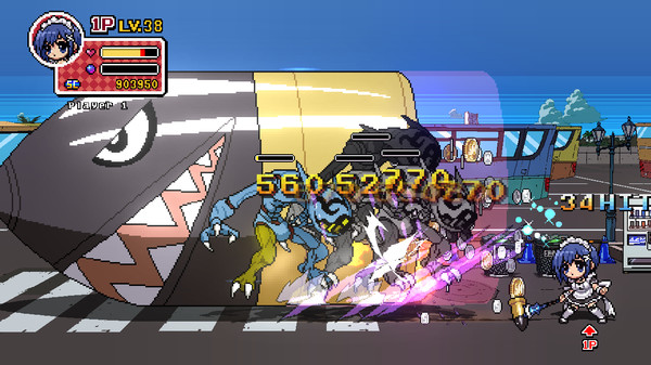 Phantom Breaker Battle Grounds PC Full Version Screenshot 1