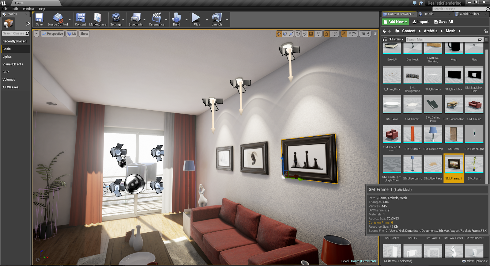 Make Your Own 3D Virtual Museum Exhibit in Unreal 4 | Lost