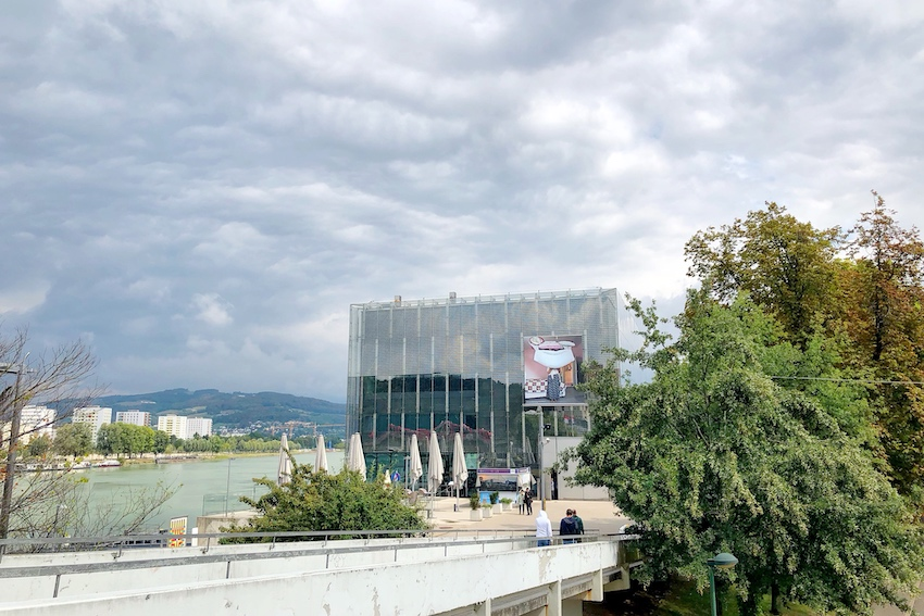 Lentos Kunstmuseum an der Donau