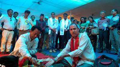 Binay Tamang inaugurates series of project from Jogighat mungpoo