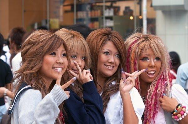 Shibuya Generation Gal Styles ⌒ ⌒ Kogal Generation