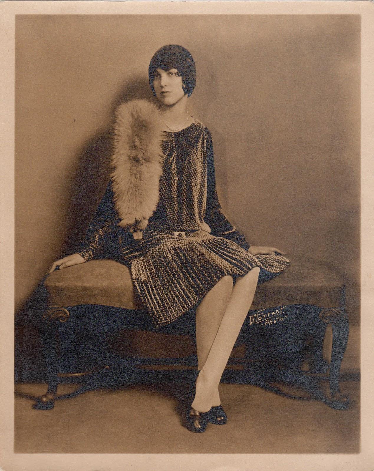 1920s Fashion Service Magazine June 1928 Bathing Suit: Bonjour Teaspoon: 1920's Fashion