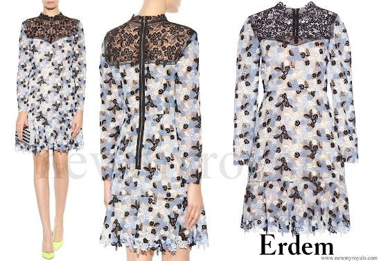 Princess Madeleine wore Erdem Rini Lace Dress