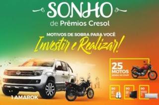 Cadastrar Promoção Cresol Sicoper 2018 Sonho de Prêmios