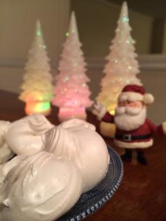 Granny's Divinity on Bake Chocolate Cake - Countdown to Christmas