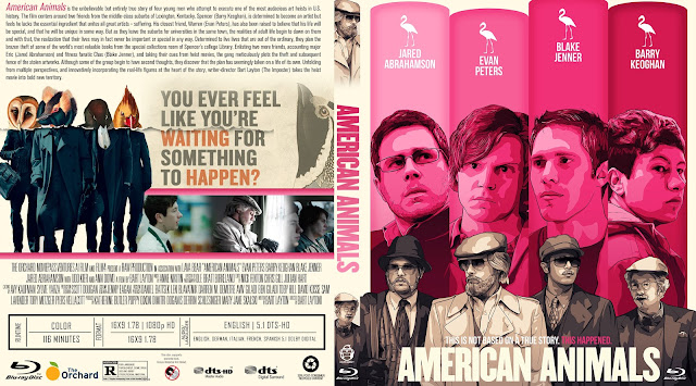 American Animals Bluray