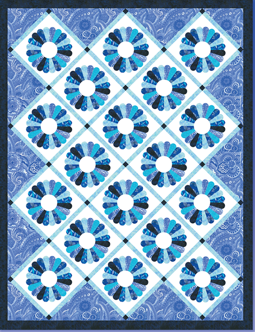 Belaire Quilt Free Pattern Designed by Heidi Pridemore for Blank Quilting