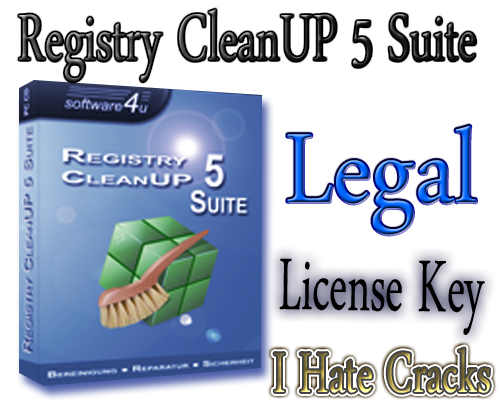 Get Registry CleanUP 5 Suite With Legal License Key