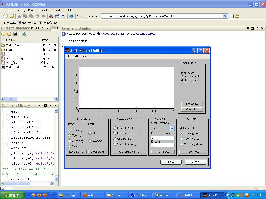 Programming Tips: Matlab ANFIS (Adaptive Neuro-Fuzzy