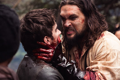 Jason Momoa and Landon Liboiron in Frontier Series (18)