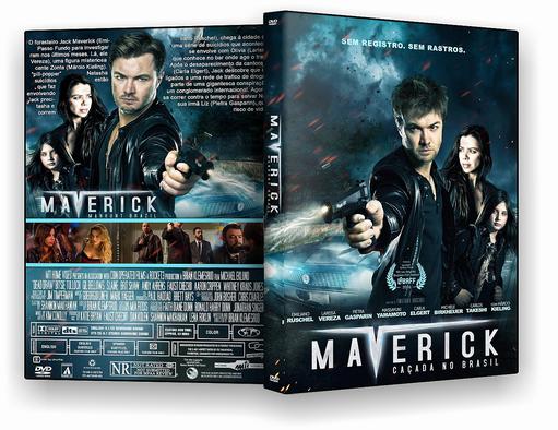 DVD-R Mavericks Cacada no Brasil – AUTORADO
