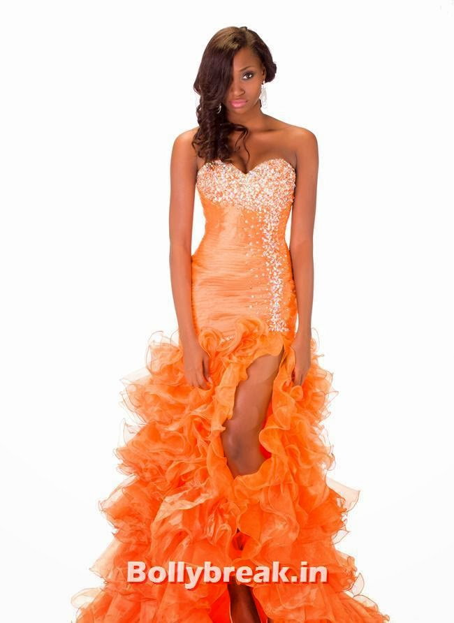 Miss Nigeria, Miss Universe 2013 Evening Gowns Pics