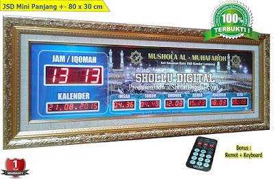 Jual Jam Jadwal Sholat Digital Masjid Di Lampung