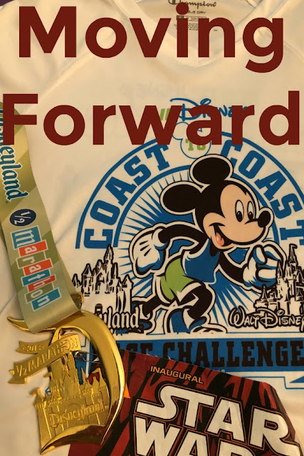 Moving Forward - Without runDisney in Disneyland