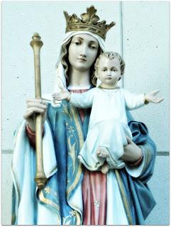 Nossa Senhora e O Menino - Igreja Nossa Senhora Auxiliadora, Porto Alegre