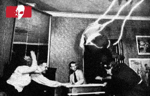 El fantasma atacaba a los investigadores