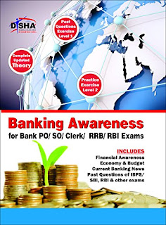 Banking Awarness for Bank PO/SO/Cleark/RBI /RRB Exam Book By Disha Publication