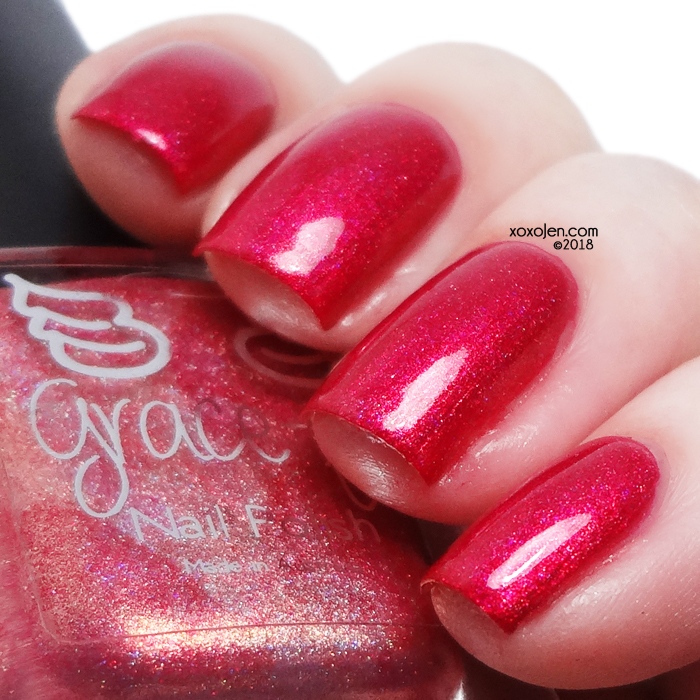 xoxoJen's swatch of Grace-full Nail Polish Paradise Island