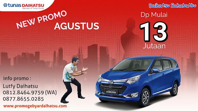 Promo Kredit Daihatsu Sigra Agustus 2018