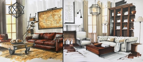 00-Sergei-Tihomirov-Interior-Design-Color-Sketches-www-designstack-co