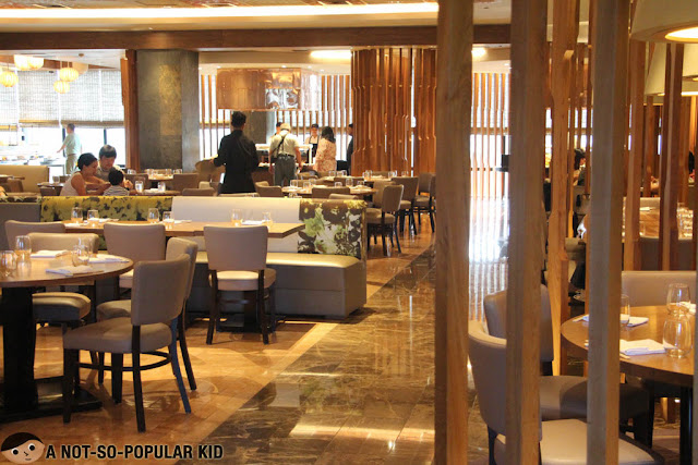 Nobu Restaurant in City of Dreams - Interior
